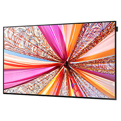 "Samsung DB55E - DB-E Series 55"" Slim Direct-Lit LED Display Angle View"