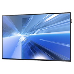 "Samsung DC48E - DC-E Series 48"" Direct-Lit LED Display - Perspective"