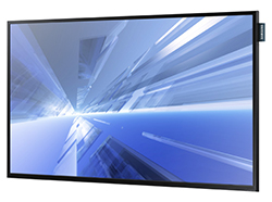 "Samsung DM40D - DM-D Series 40"" Slim Direct-Lit LED Display Perspecitive View"