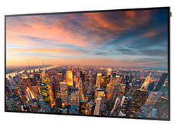 "Samsung DM82D - DM-D Series 82"" Edge-Lit LED Display Perspecitive View"