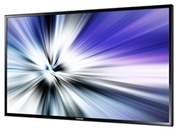 "Samsung ED40C - ED-C Series 40"" Direct-Lit LED Display Right Angle View"
