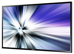 "Samsung ED55C - ED-C Series 55"" Direct-Lit LED Display Right Angle View"