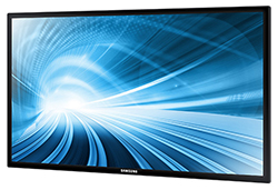 "Samsung ED40D - ED-D Series 40"" Direct-Lit LED Display Perspective View"