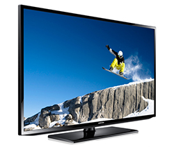 "Samsung H32B - HB Series 32"" HDTV Direct-Lit LED Display Left 45 Degree Angle View"