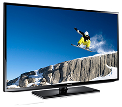 "Samsung H32B - HB Series 32"" HDTV Direct-Lit LED Display Left Angle View"