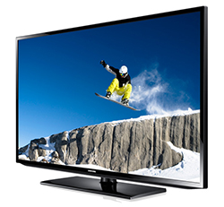 "Samsung H32B - HB Series 32"" HDTV Direct-Lit LED Display Right Angle View"