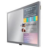 "Samsung ML55E  - ML-E Series 55"" Direct-Lit LED Display - Perspective"