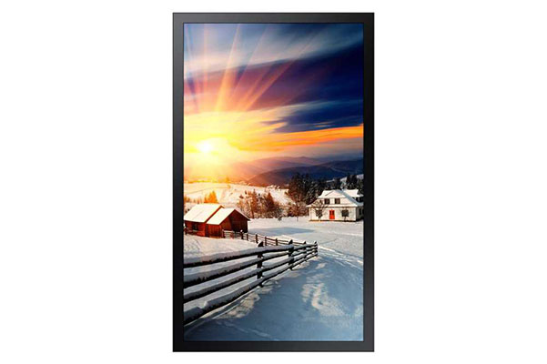 "Samsung OH85F - OH-F Series 85"" High Brightness Outdoor Display for Business"