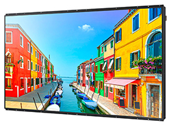 "Samsung OM75D-K - OMD-K Series 75"" High Brightness Display Right Angle View"