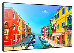 "Samsung OM75D-W - OMD-W Series 75"" High Brightness Display Left Angle View"