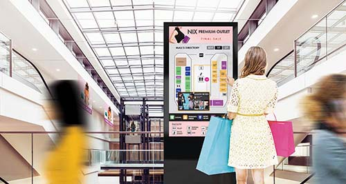 Achieve compelling customer engagement through all-in-one touchscreen displays