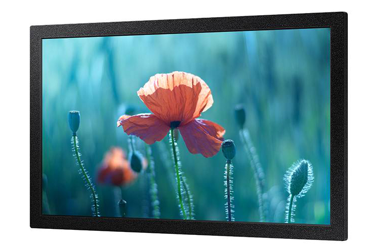 Samsung QB13R - 13-inch EDGE LED  FHD Display, 300 NIT LED Display (Right Perspective)