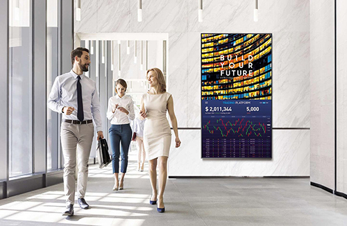 Communicate effectively with a connected display