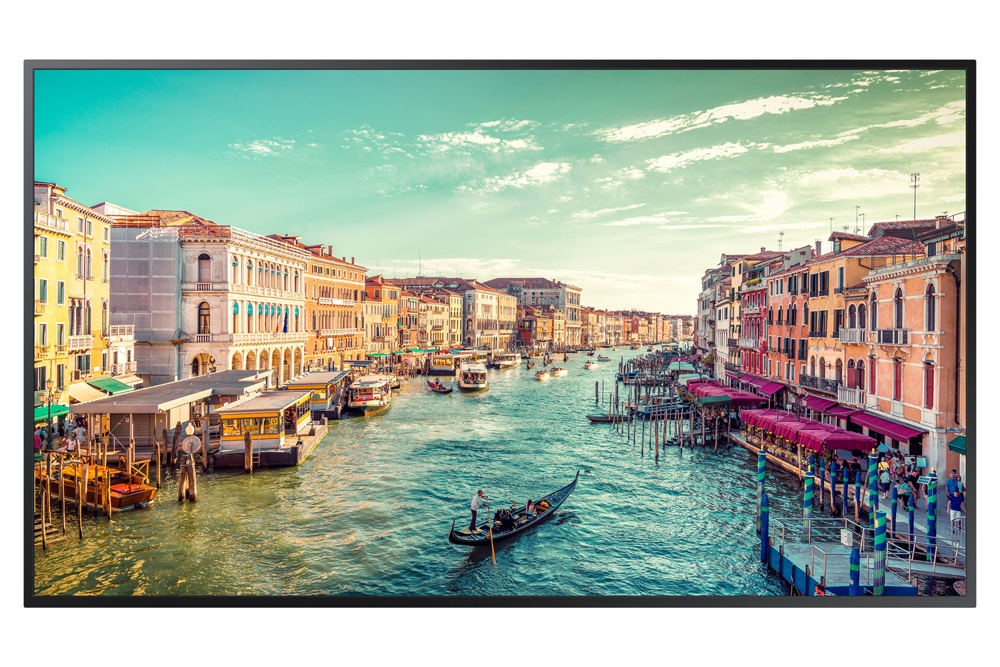 Samsung QM55R - 55-inch Commercial 4K UHD LED LCD Display, 500 NIT LED Display (Front)
