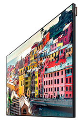 "Samsung UE46D - UE-D Series 46"" Edge-Lit LED Display Right Side View"