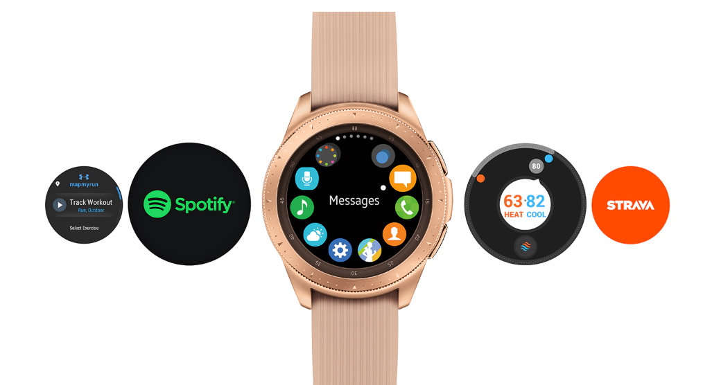 Galaxy Watch   android and iphone compatibility