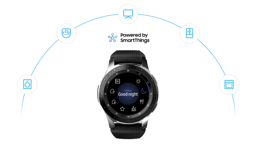 Galaxy Watch smartly connected