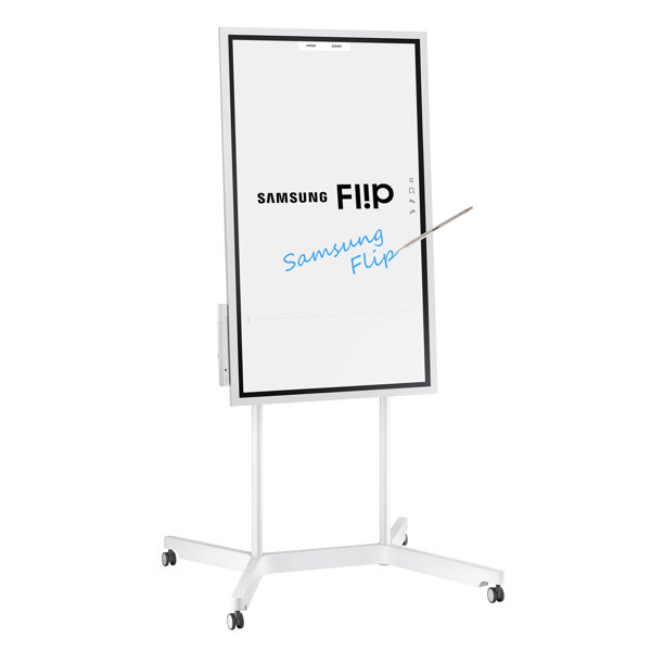 Samsung WM55H - Digital Flipchart for Business with Stand Portrait View